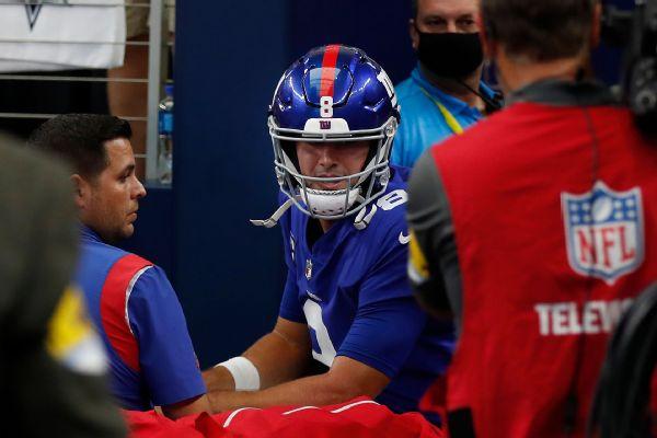 Giants' Jones 'on track,' could return vs. Rams