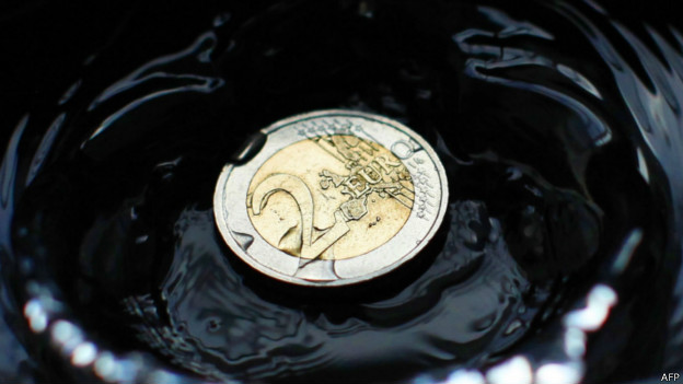 Moneda de dos euros.