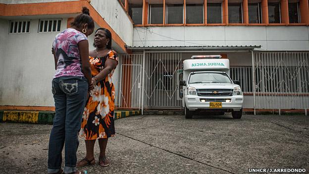 Mujeres en Buenaventura. Foto: UNHCR/J.Arredondo