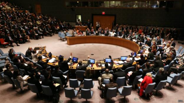 Reunião do Conselho de Segurança da ONU sobre o ebola / Crédito: EPA
