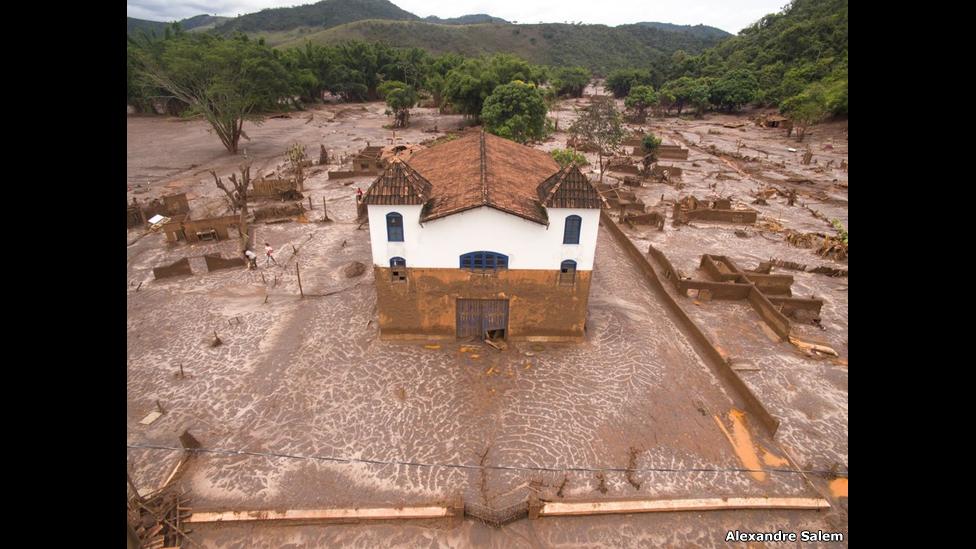 Una iglesia en Paracatu