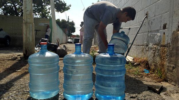 Pozo de agua en Valencia