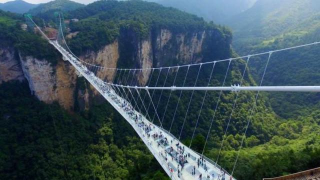 Hasil gambar untuk jembatan logam di cina