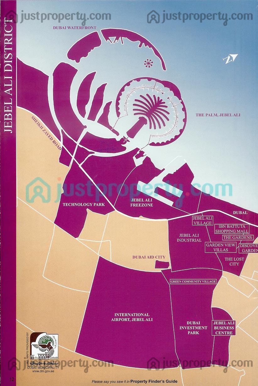 Dubai District Maps Floor Plans