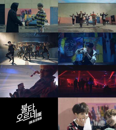 防彈少年團新專輯主打歌《FIRE》預告片公開 展現青春能量 - KSD 韓星網 (KPOP)