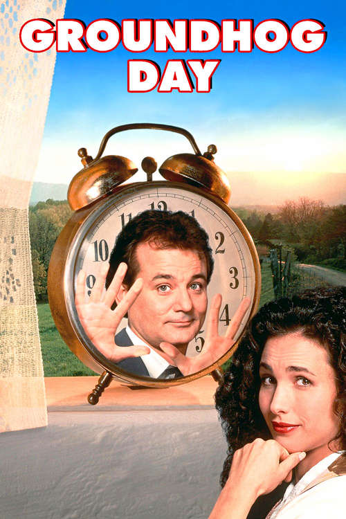 DVD cover art for Groundhog Day