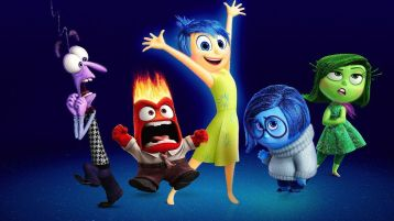 Promotional picture for Inside Out, featuring the five main emotion characters.