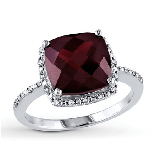 Kay Jewelers Blue Diamond Necklace