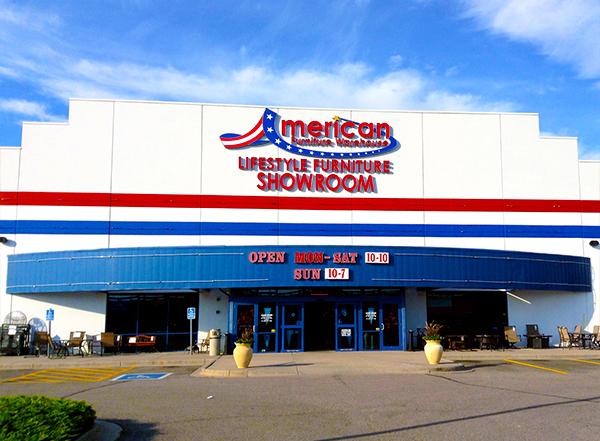 american furniture warehouse