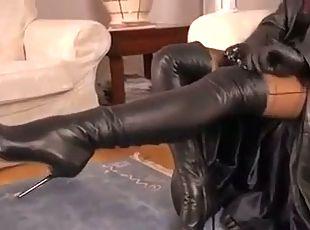 femdom lick granny