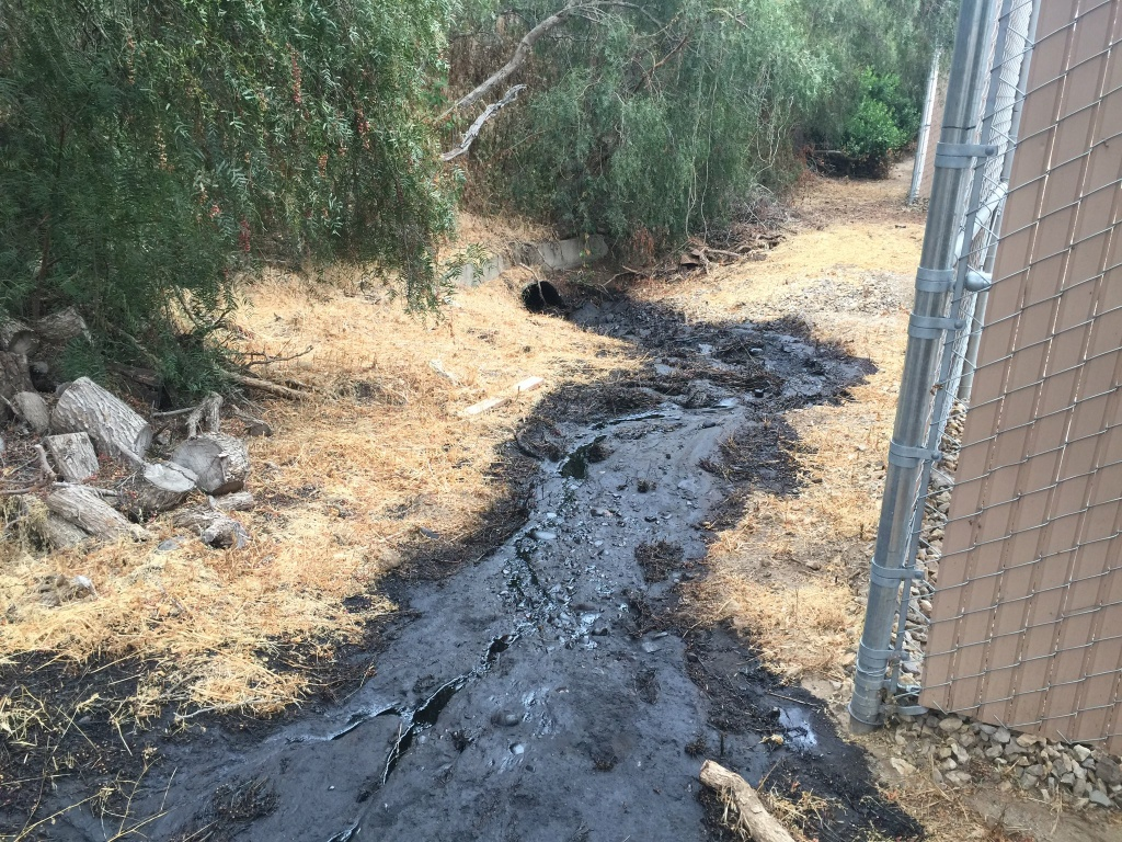 Oil Spill Releases Thousands Of Gallons Of Crude In