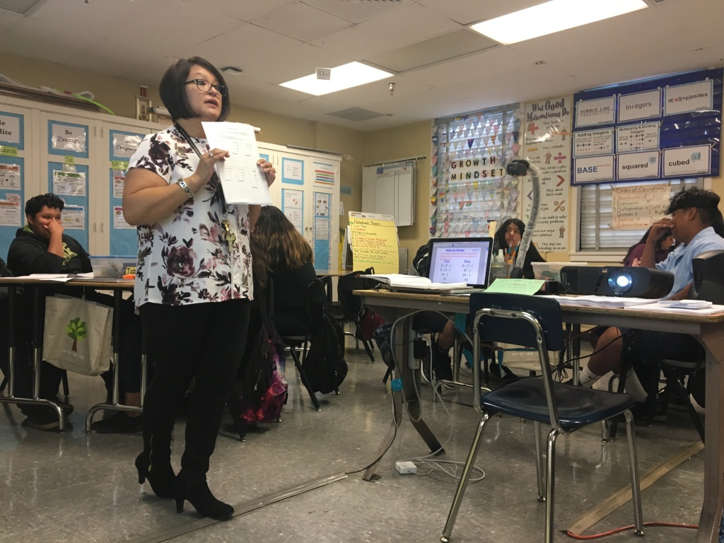 Audio In A Year Of Flat Test Scores A Middle School In La S Boyle Heights Continues Its Rise