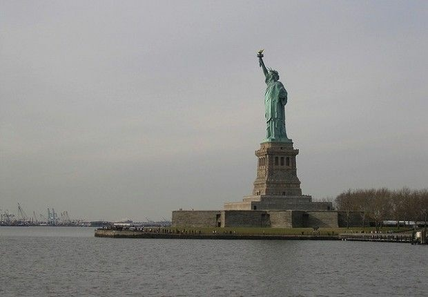 Give Me Your Tired Your Poor The Statue Of Liberty At