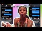 DMX Lyric prank on my friends|| SHE WAS WITH IT!!!