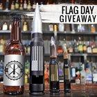 Win 3 Bottle Breachers for Flag Day! ARV $125 (06/20/2017) {US}
