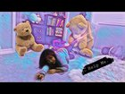 GIANT Teddy Bear PRANK!!! Girl pees her pants