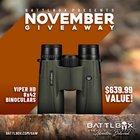 BattlBox November Giveaway! Win Viper HD 8x42 Binoculars! A $640 Value! (11/05/2019) {US PR}