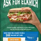 #EckrichFlavor #Sweepstakes WIN $100 Walmart Gift Card {US} (08/18/2017)