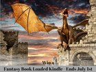 Win a Kindle Fire loaded with Fantasy Books ARV $120 {WW} (7/1/17)
