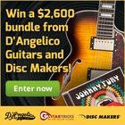 Win a D'Angelico Excel SS Guitar worth $1,700 {US CA} (10/8)