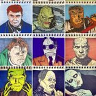 Horror movie characters - first 15 for inktober (1922 - 1978)