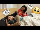 Talking about having kids in my sleep cute reaction