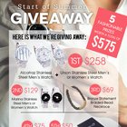 THIRTY X THIRTYNINE Start of Summer Giveaway - Enter to Win Over $575 in Prizes! Ends 5/31