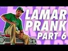 LAMAR DAVIS PRANK CALLS PORTUGUESE GAS STATION GUY AND MORE PART 6 - GTA V Prank Call