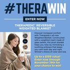 #TheraWin Giveaway: Therapedic® Reversible Weighted Blanket {US} (11/19/2018)