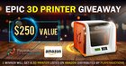 [Upviral | Repost] XYZ 3D Printer Giveaway by PlayerAuctions (02/26/2018) {US}