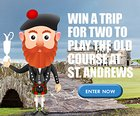 Win a trip to Scotland - 7 nights hotel, 4 days golfing, 2 days at the 2018 Open {US} (2/28)