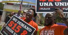 It's been a record 11 years since the last increase in U.S. minimum wage