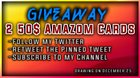Win 1 Of 2 $50 Amazon Cards