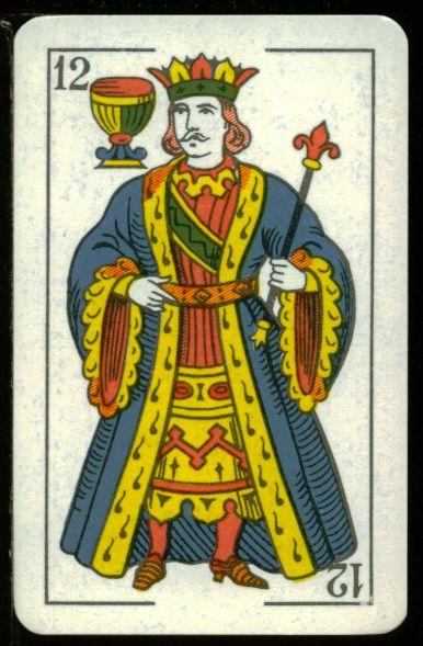 Resultado de imagen para rey de copas baraja española