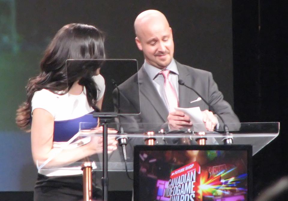 Presenting the Best Audio Award