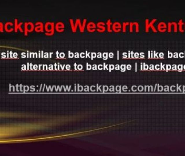 Backpage Western Kentucky