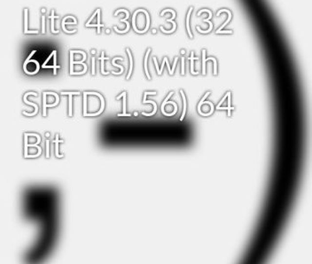 Daemon Tools Lite  32 64 Bits With Sptd 1 56