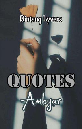 Quotes Ambyar Menunggu Wattpad