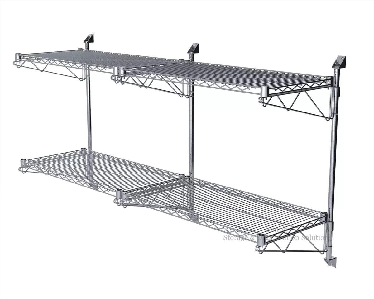 Wall Mounted Shelf Metal Chrome Plated Wall Shelf Unit Buy