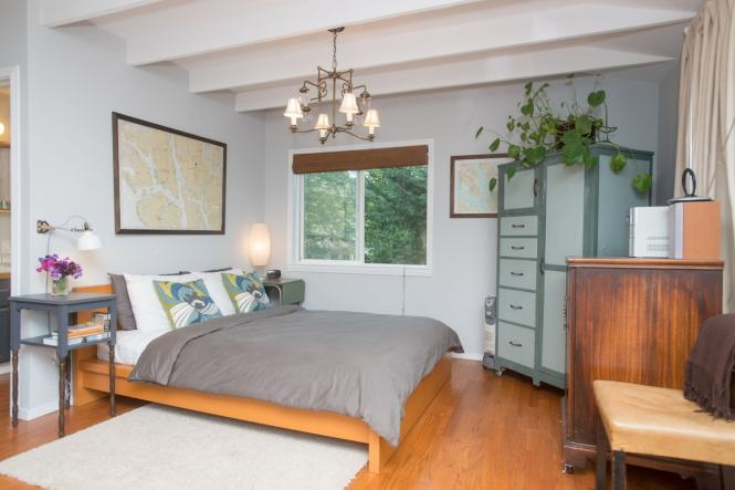 Mt Tabor Studio With Hood View Guesthouses For In Portland Oregon United States