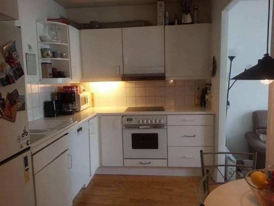Bergen Airbnb's in Scandinavia kitchen