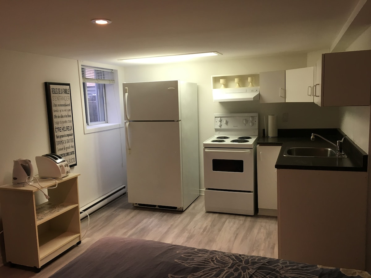 Studio 10 Min From Downtown Condominiums For Rent In