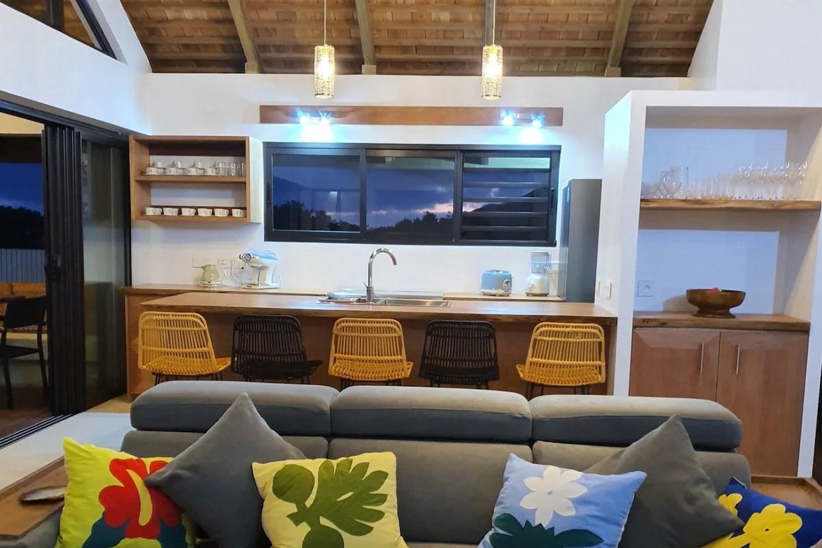 moorea lodge villa polynesienne bord