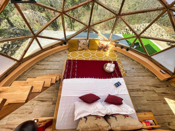 A Cozy Dome & Attic in Parvati Valley   Itsy Bitsy - Dome houses for Rent  in Jari, Himachal Pradesh, India