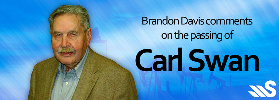 Brandon Davis Comments on passing of Carl Swan