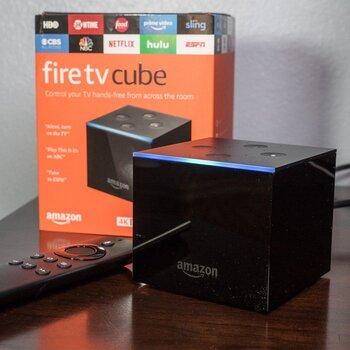 Медиаплеер AMAZON FIRE TV CUBE