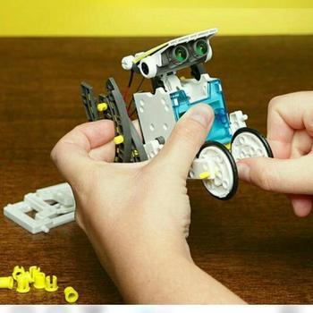 """Современный детский робот-конструктор """"Solar 14 в 1"""""""