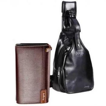 Стильный рюкзак Jeep Buluo + портмоне Sultan
