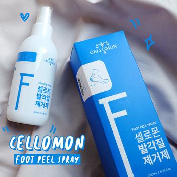 Cellomon - новый пилинг спрей от огрубевшей кожи