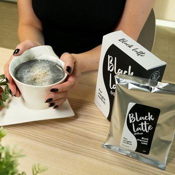 Новый угольный латте для похудения - Black Latte